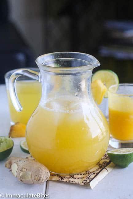 Pineapple Ginger Juice
