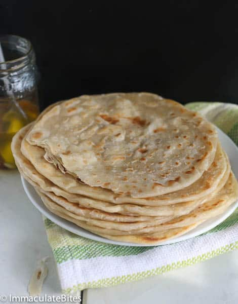 This chapati is super simple to throw together, just 5 ingredients and ...