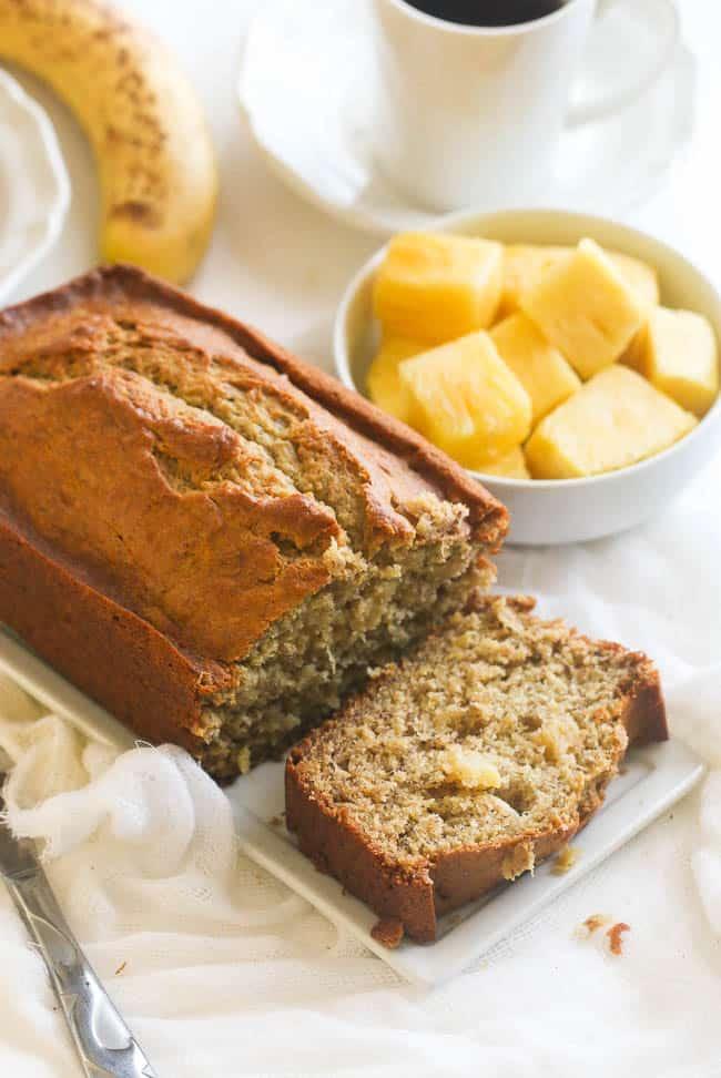 Simple bread dessert