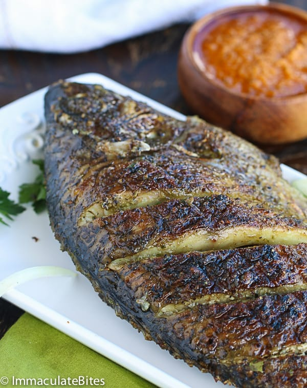 Grill tilapia african style for Tilapia fish recipe