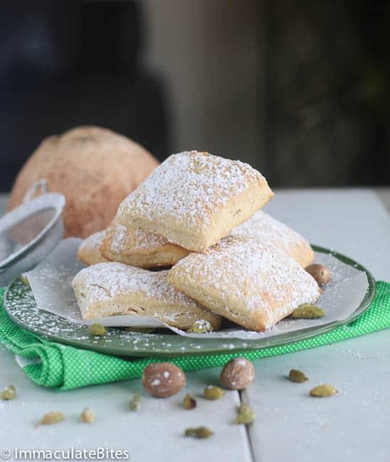 Baked Soft Mandazi