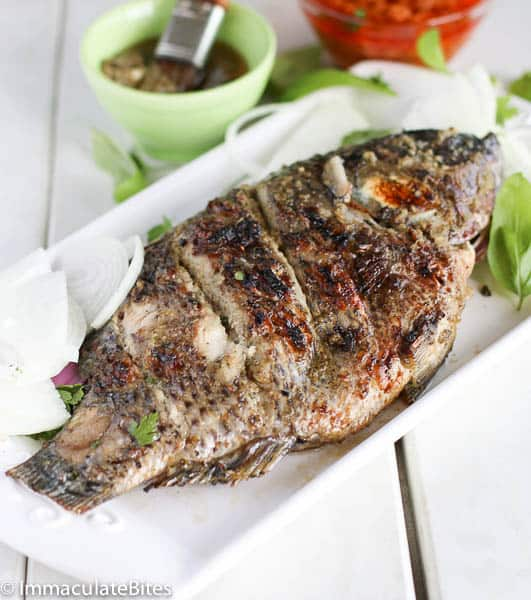 Grill Fish(African Style)