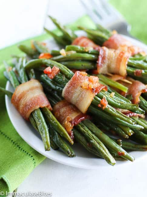 green bean bacon bundle