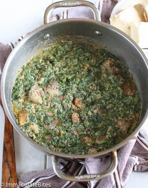 Pumpkin Leaves (Ugu) Soup