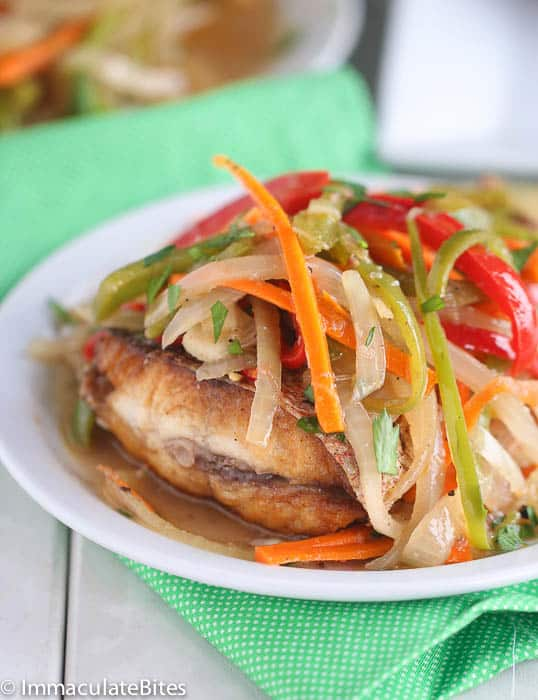 Jamaican Escovitch Fish