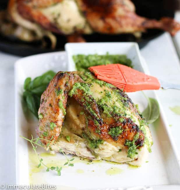 Green Seasoning chicken