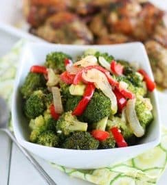 Spicy Roast Garlic Broccoli Immaculate Bites