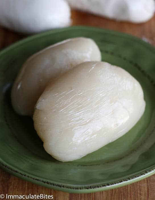 Water fufu