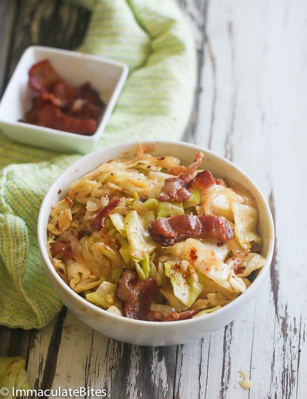 Southern Fried Cabbage