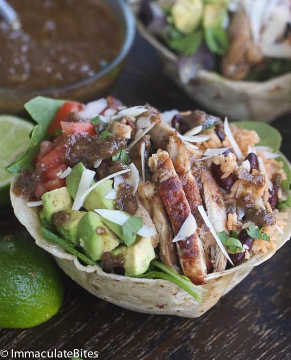 Jerk Chicken Bowl Salad