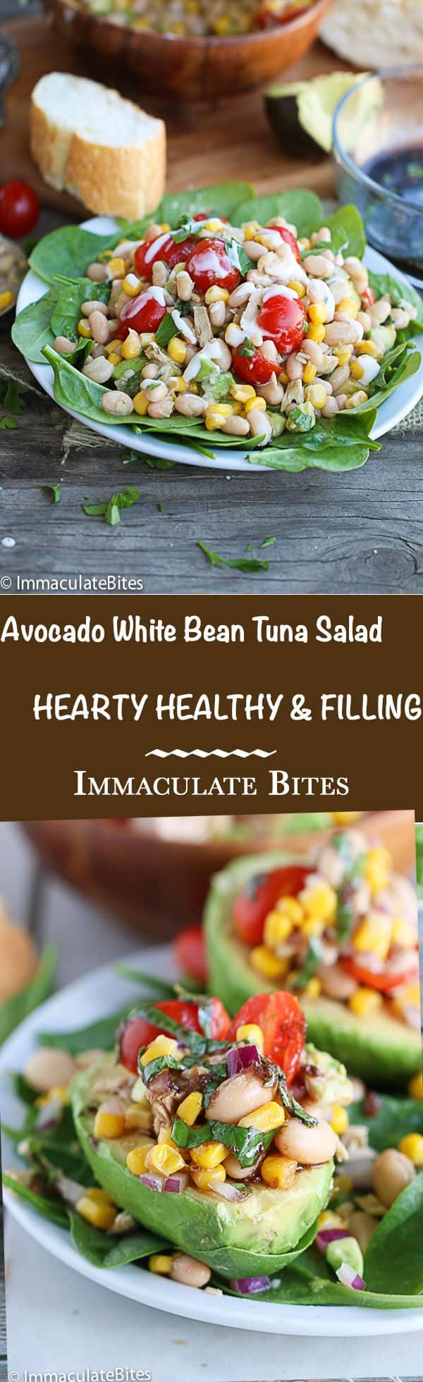 avocado-white-bean-salad