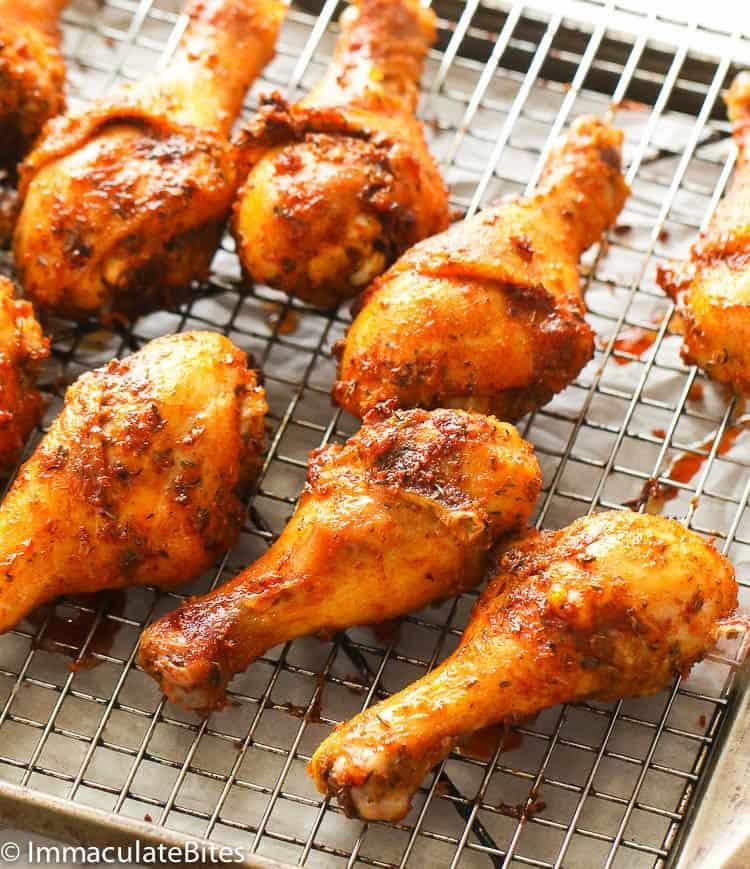 Paprika Chicken Legs