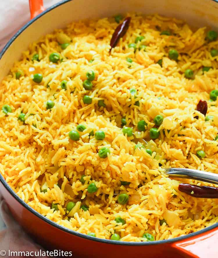 Yellow Rice Immaculate Bites