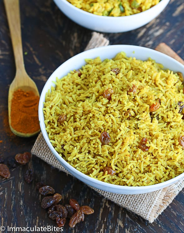 South African Yellow Rice