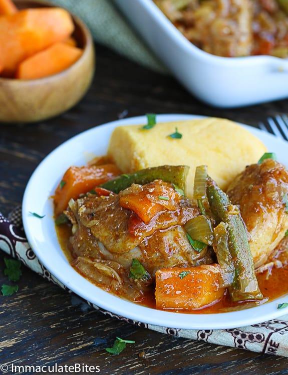 Muamba Chicken