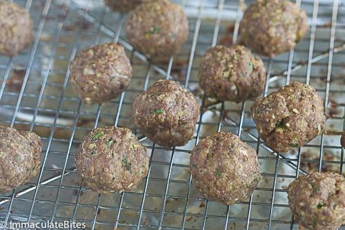 Pineapple glazed Meatballs