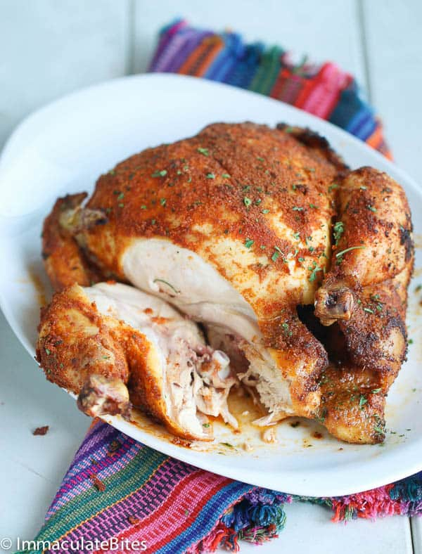 Chicken with East African flavors