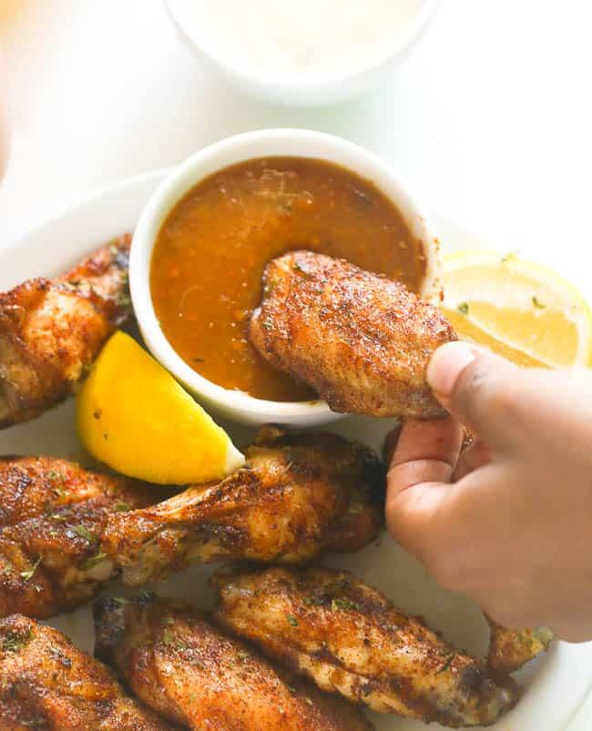 Baked Jerk Chicken Wings