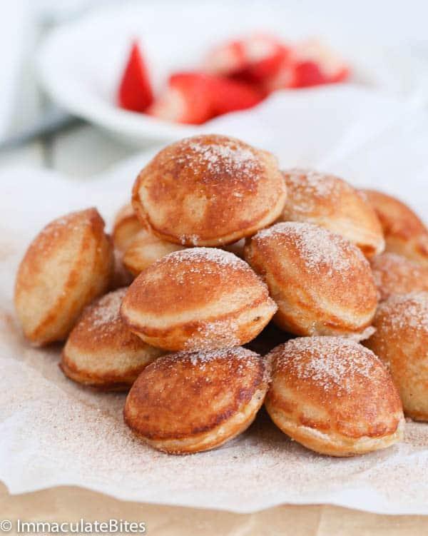 Vitumbua ( Coconut Rice Pancakes)