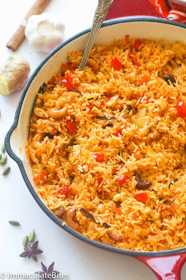 east african pilau rice immaculate bites