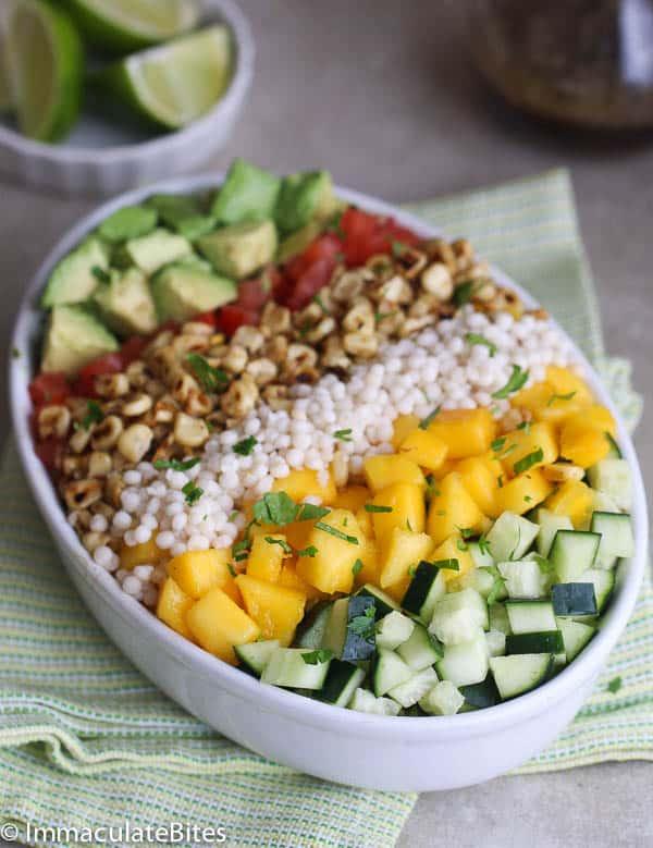 Mango Avocado Shrimp Salad & Mango Dressing