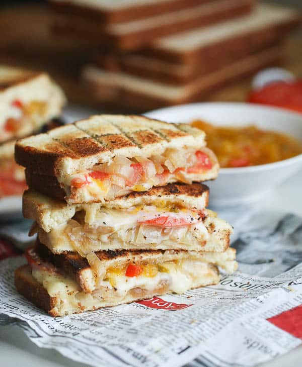 Braaibroodjie(South African Grill Cheese Sandwich)