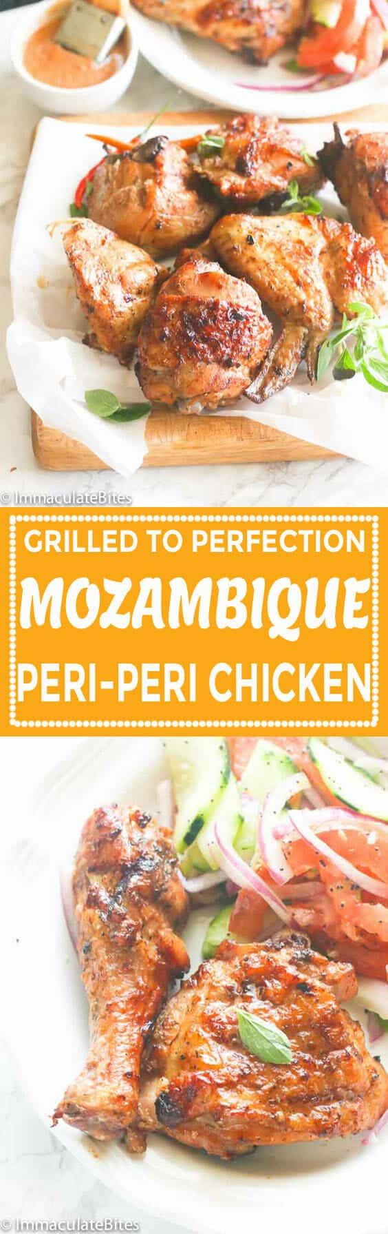 Mozambique Peri Peri Grill Chicken