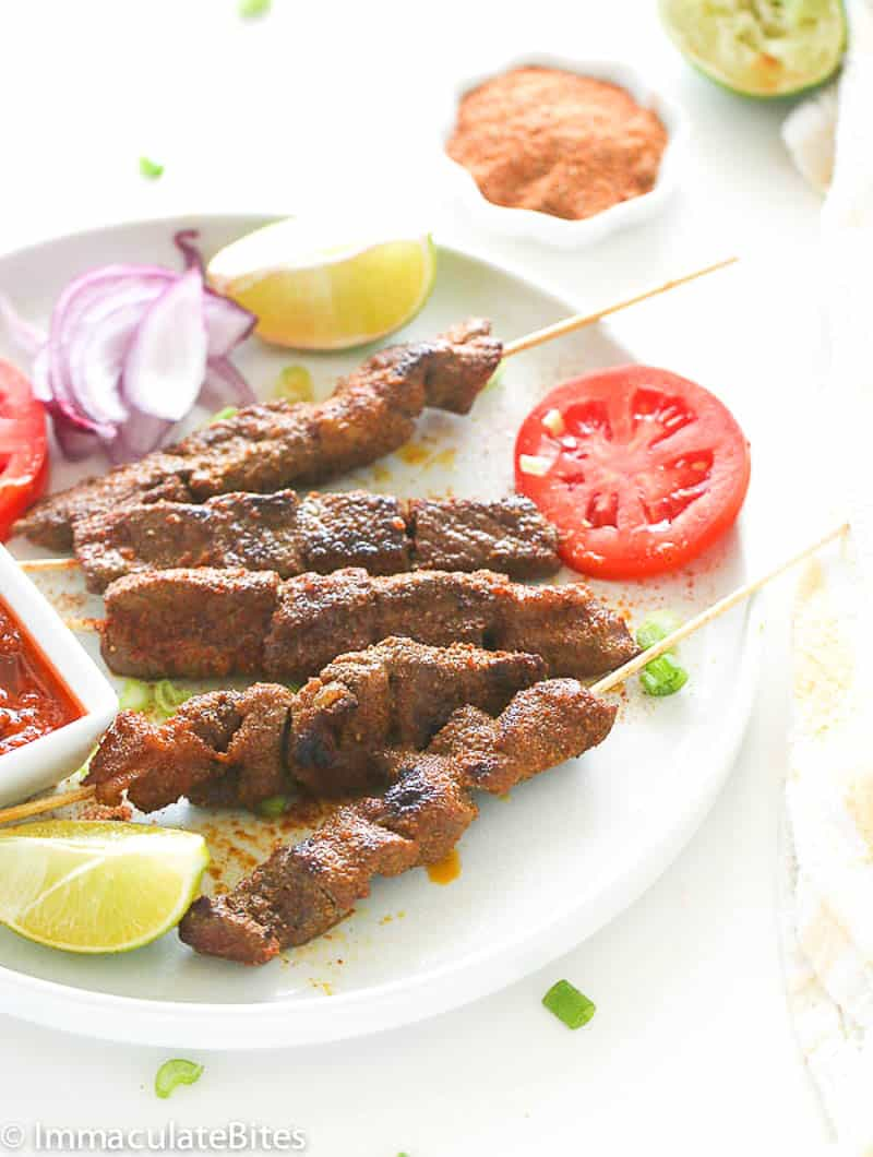 Curry Beef Satay
