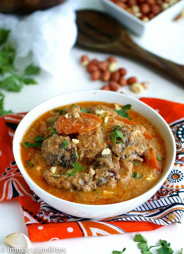Maafe (West African Peanut Soup)