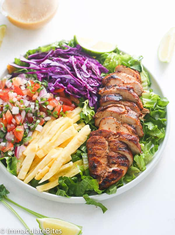 Caribbean Grill Chicken Salad