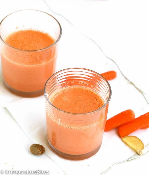 Caribbean Carrot Juice