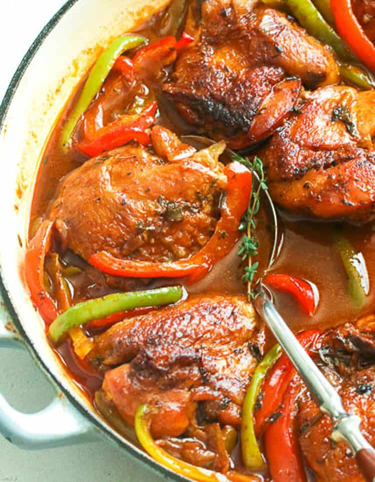 Brown Stew Chicken