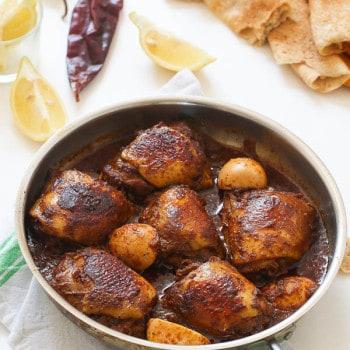 Doro Wat -Ethiopian Chicken Stew