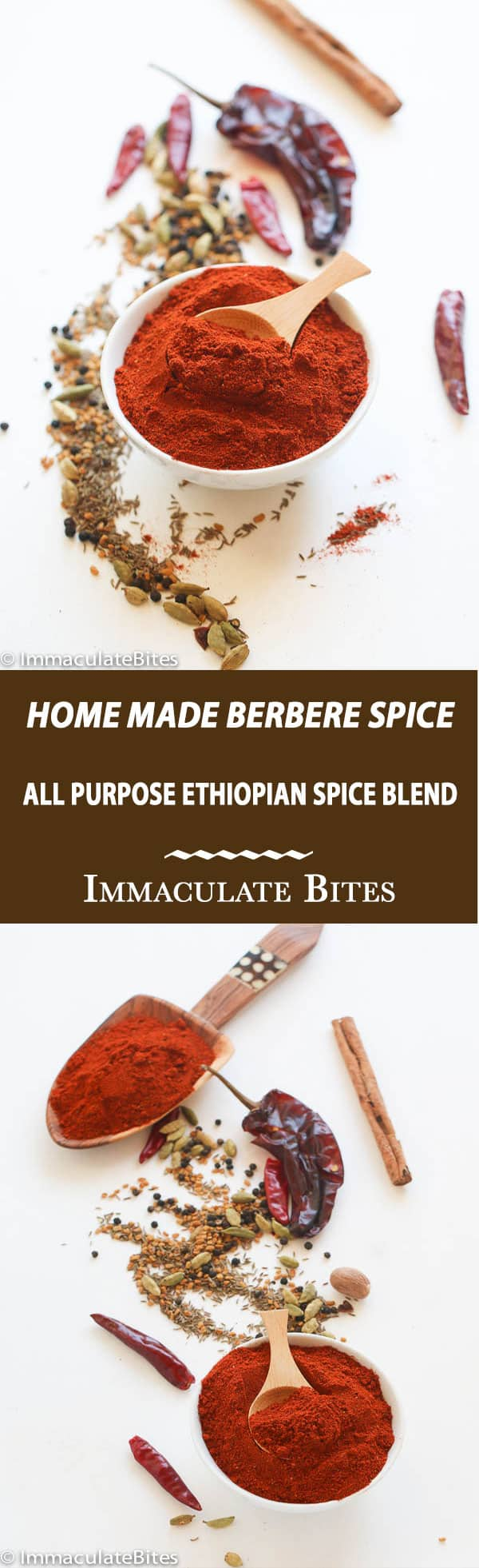 Berbere Spice -Homemade Ethiopian Seasoning Mix - The secret spice blend to making Ethiopian Meals
