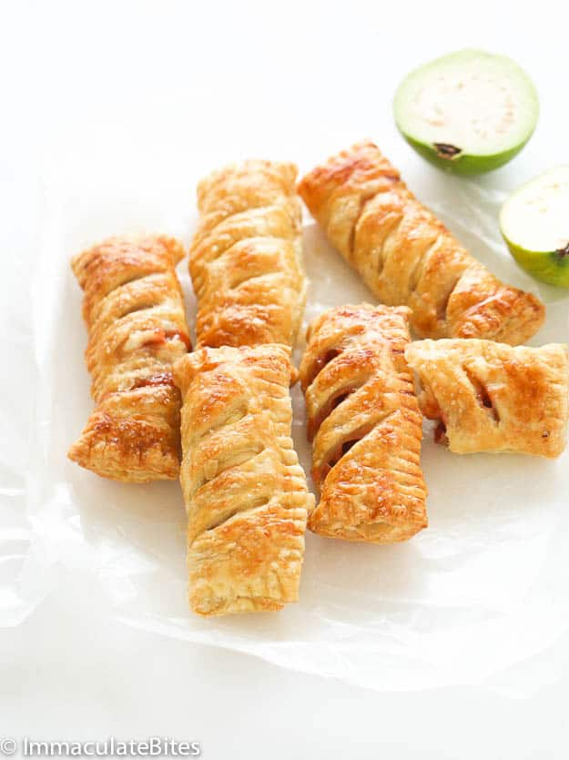 ... guava, cream cheese and puff pastry. You'll be glad you did! It's