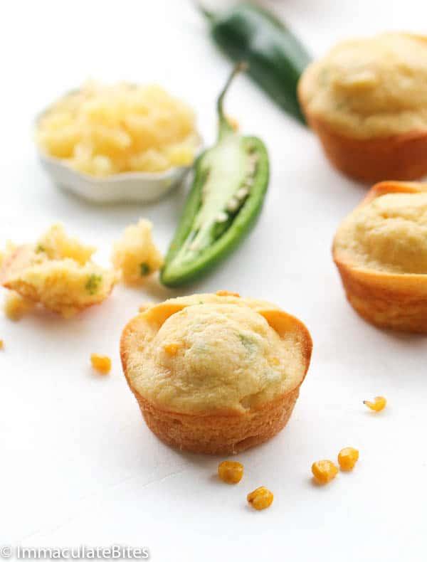 Pineapple Jalapeños cornbread