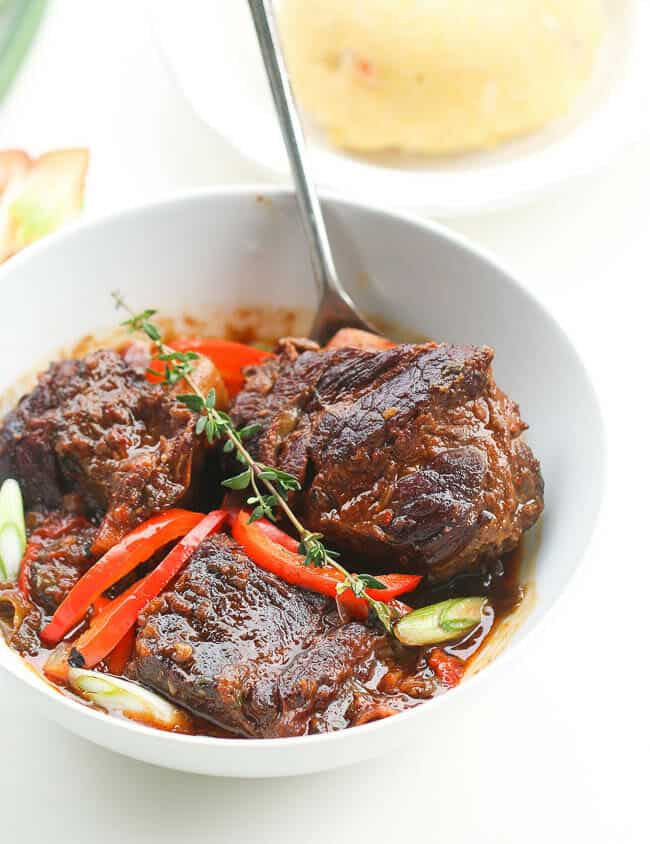 Spicy Jamacian Beef Short Ribs Stew