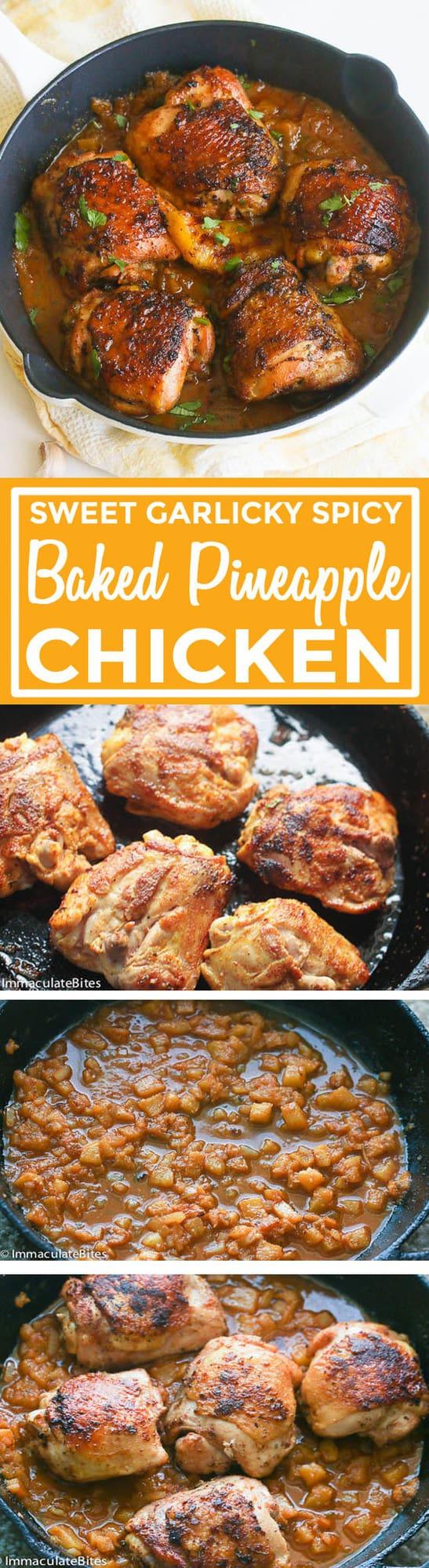Baked Pineapple Chicken