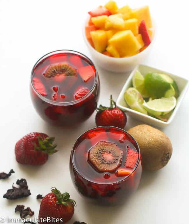 Hibiscus Fruity Sangria