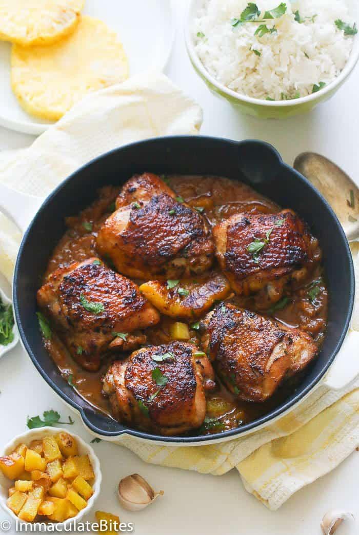 Pineapple Glazed Chicken