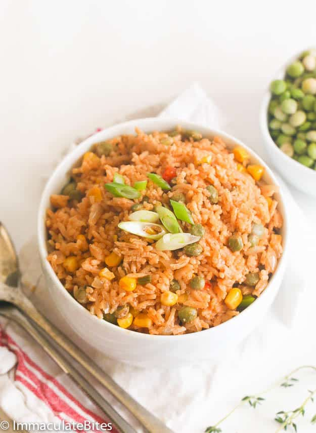 Pigeon peas and rice