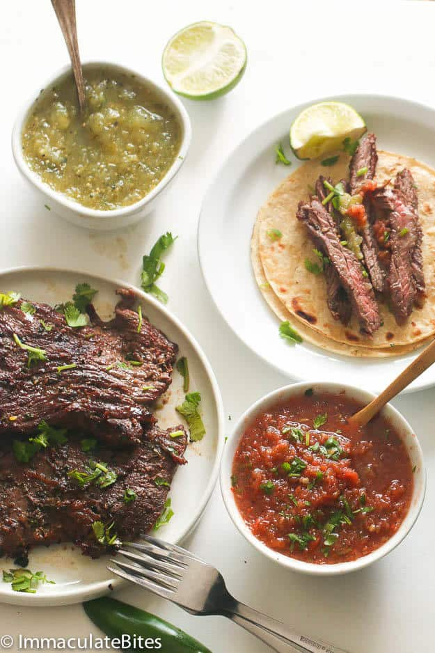 Marinated Carne Asada(Skirt Steak)