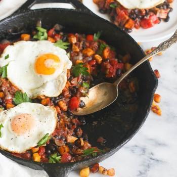 Sweet Plantain Hash & Eggs