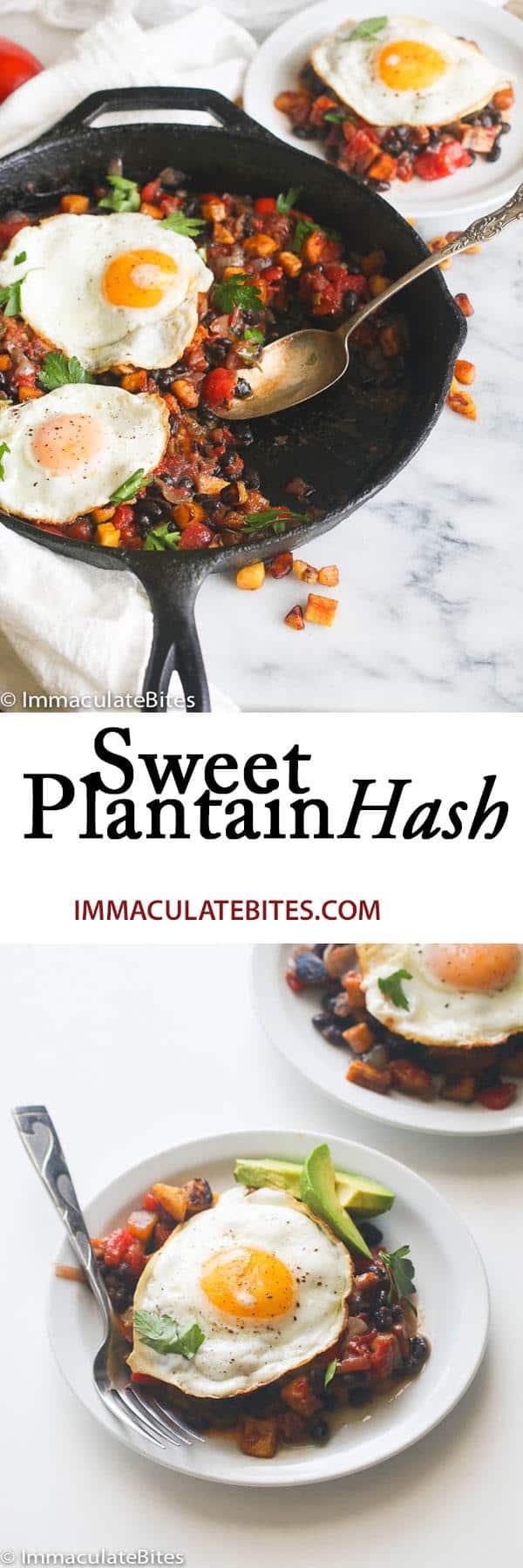 Sweet Plantain Hash