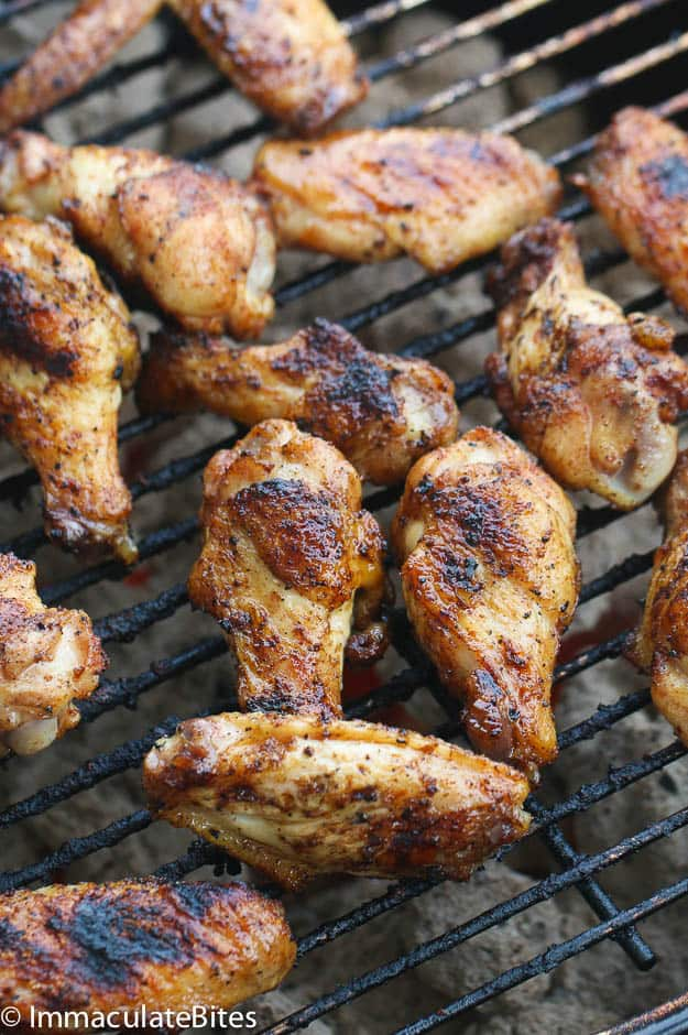 Caribbean Sweet & Sticky Hot Wings