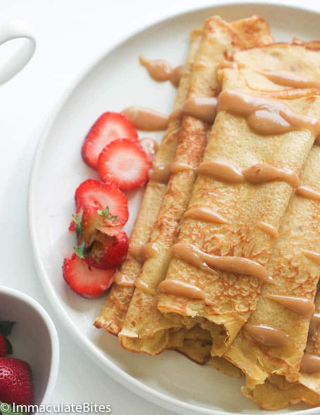 Plantain pancake