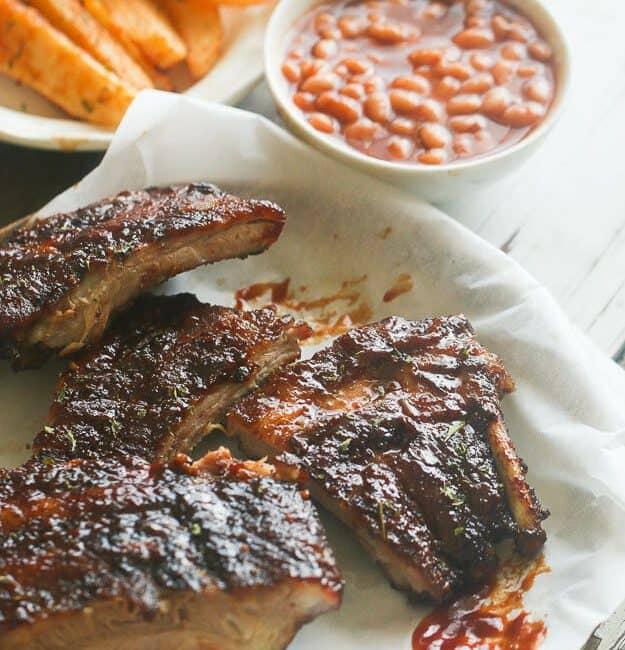Caribbean Jerk Barbecue Ribs