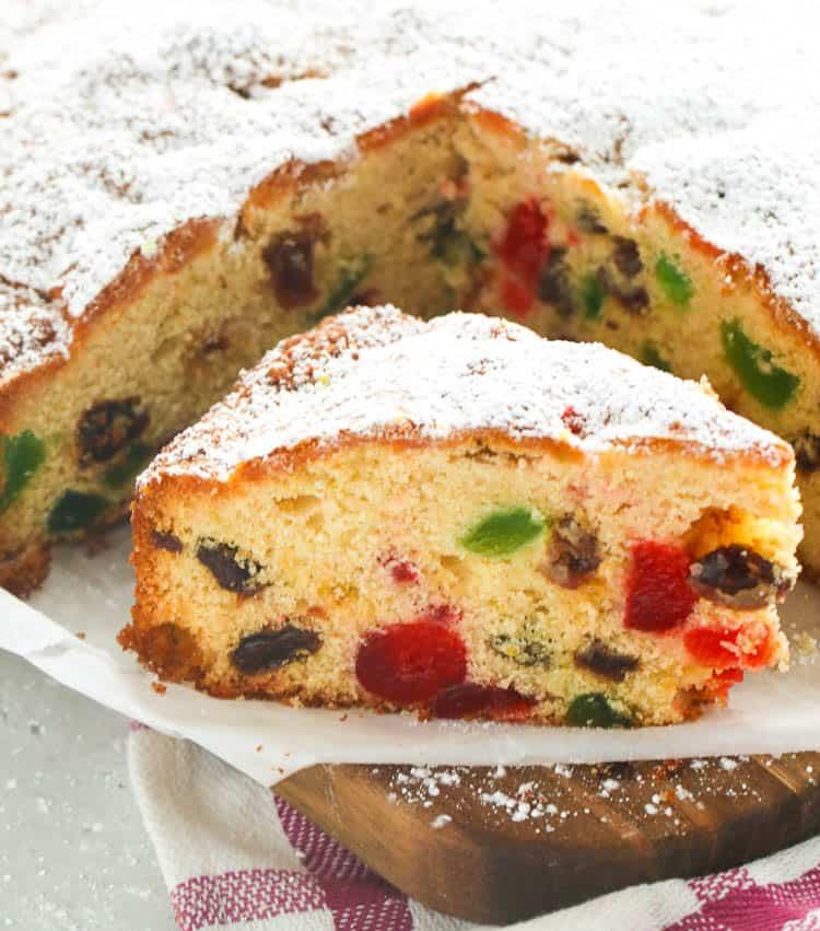 Light Fruit Cake Immaculate Bites