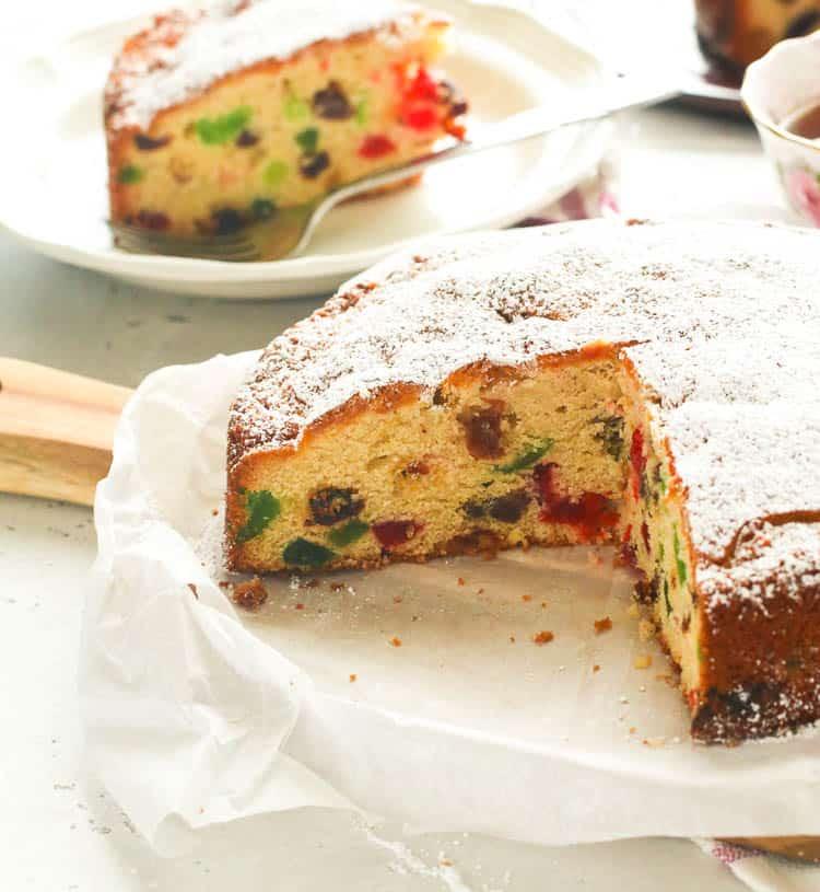 Light Fruit Cake