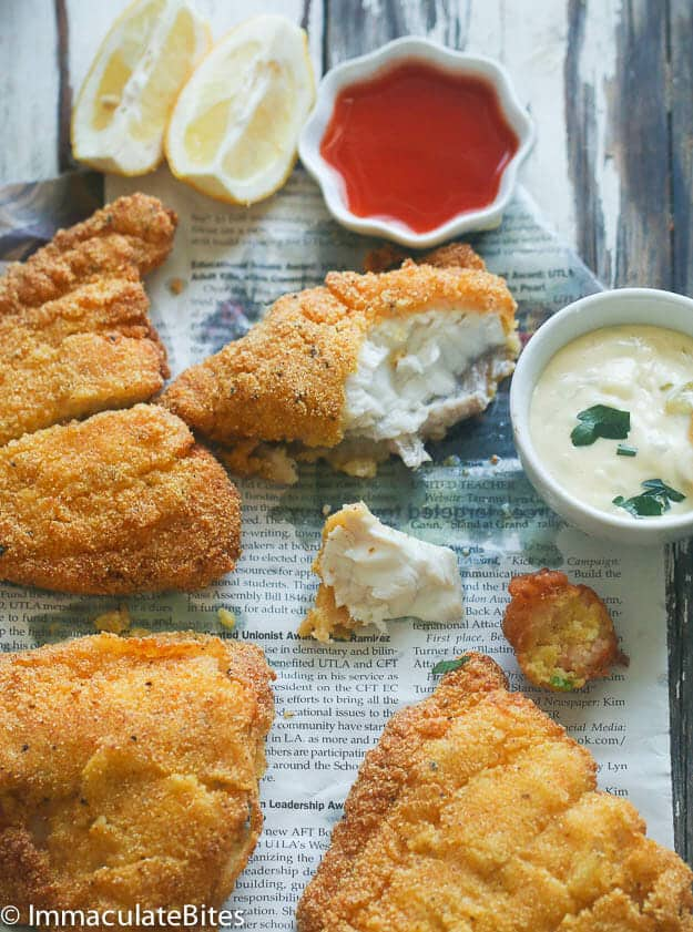 Southern Fried Cat fish